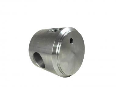 Zylinderboden mit Ölanschluss und Bohrung BA080095